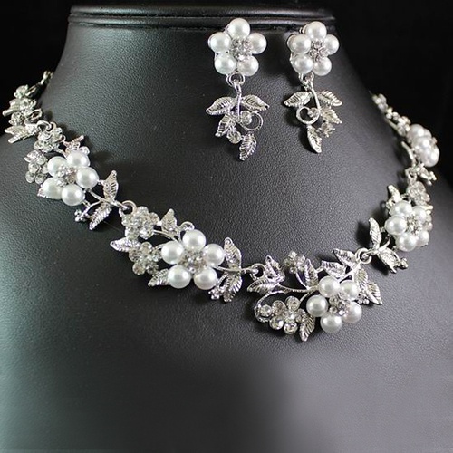 weddingjewelryset, Floral, Jewelry, beautyaccessory
