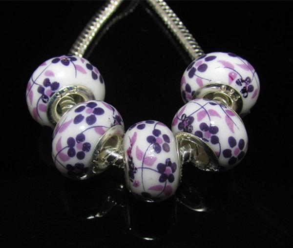 Charm Bracelet, Fashion, Jewelry, Porcelain