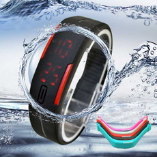 LED Watch, led, Wristbands, watches for men