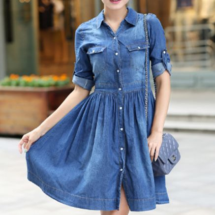 Waist, Sleeve, Dresses, denimskirt