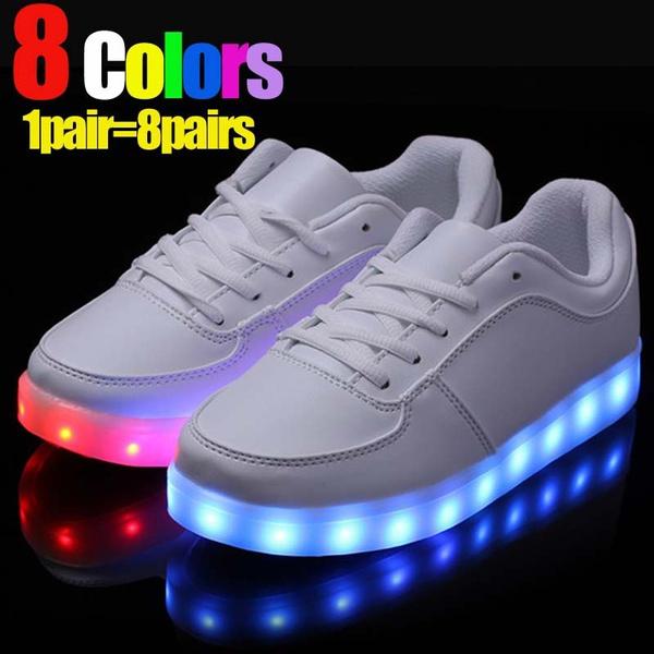 Adults USB Charging Lights Shoes