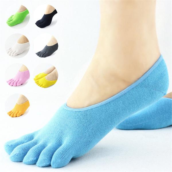 yogasock, Cotton Socks, halftoepilate, Socks & Tights