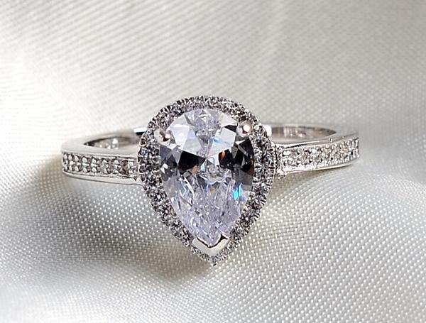 White Gold, water, Fashion, Bridal Jewelry Set