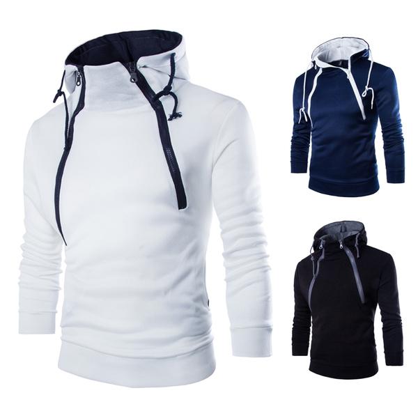 double zip jacket men's