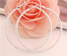 elegantwomanearring, Hoop Earring, Jewelry, bigcircleearring