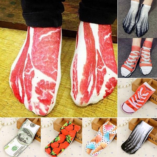 Hosiery & Socks, Funny, womensock, Novelty