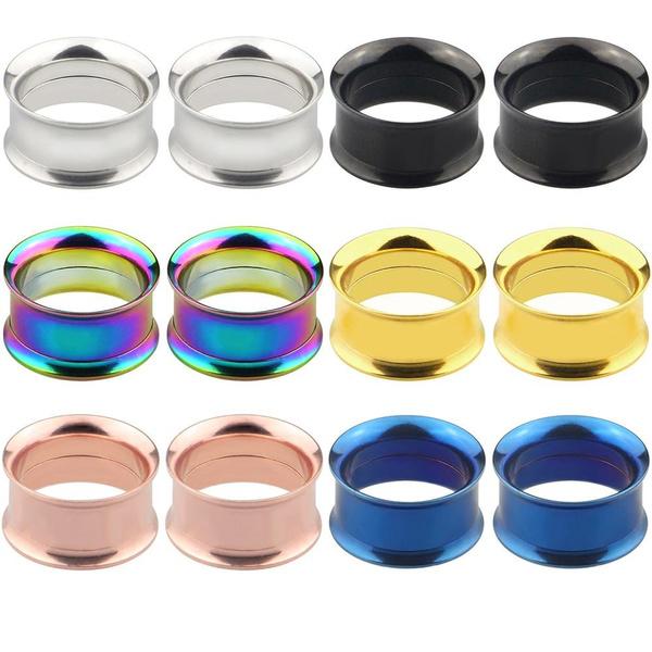 Steel, eargaugesplug, Body Jewelry, Stud
