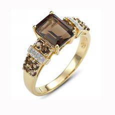 yellow gold, brown, 18k gold, wedding ring
