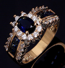 Blues, Fashion, wedding ring, gold