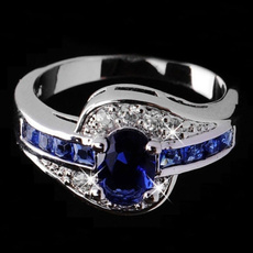 White Gold, DIAMOND, 925 sterling silver, gold