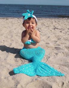 Clothes, cute, mermaid, Bras