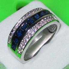 Blues, White Gold, Fashion, Jewelry