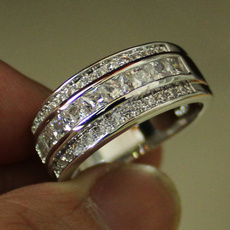 White Gold, men_rings, 925 sterling silver, gold