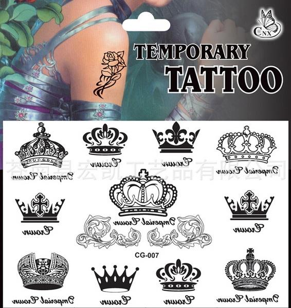 blackcrown, tattoo, Goth, art