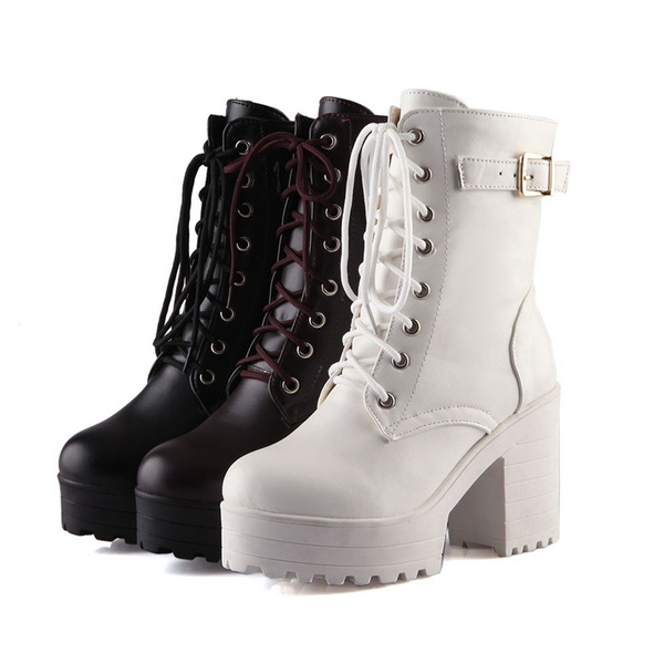 New Autumn Boots Winter Ankle Boots