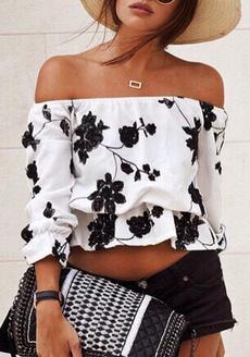 blouse, Fashion, crop top, Necks