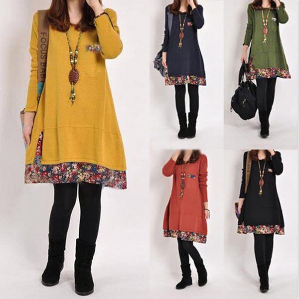 Maternity Dresses, blouse, Fashion, Floral print