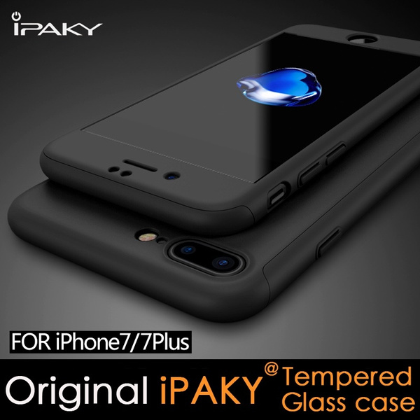 The All-New Orignal iPAKY Frosted 360° Full Protection Tempered Glass Case for iPhone 7 iPhone 7 Plus iPhone 6s 6s Plus Coque iPhone 7 Plus | Wish