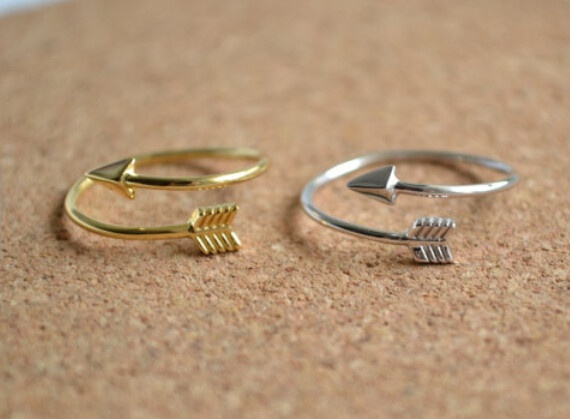 goldplated, Fashion, valentinesdaypresent, Silver Ring