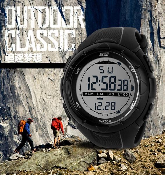 quartz, led, Waterproof Watch, fashion watches