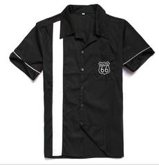 route66, rockabillyshirt, Shirt, Sleeve