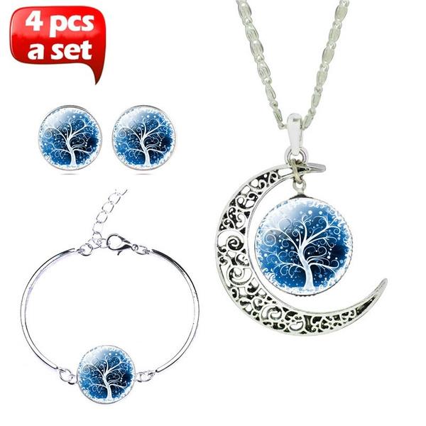 Sterling, Tree, Fashion, Jewelry