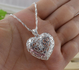 Sterling, Heart, Fashion, Jewelry