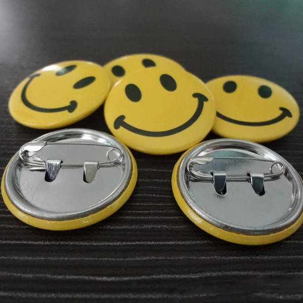 cute, Jewelry, Gifts, smileyfacebadge