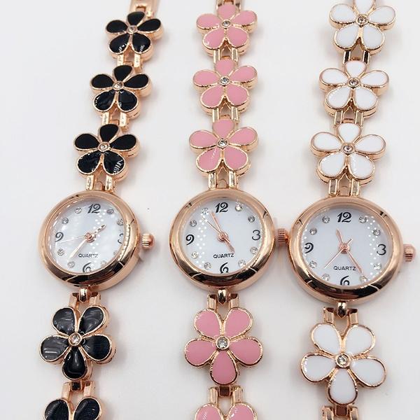 Bracelet, Flowers, Jewelry, chainwatch