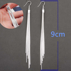 Sterling, Tassels, Dangle, Dangle Earring