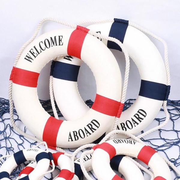 Home & Kitchen, nauticaldecor, lifebuoydecor, navywind