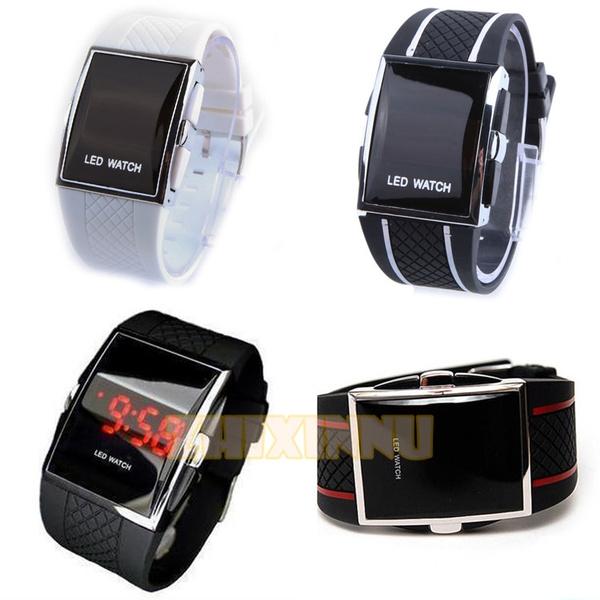 Fashion, led, Gifts, wristwatch