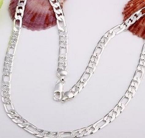 1630, Sterling, Chain Necklace, 925 sterling silver