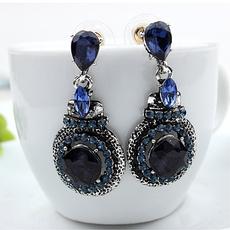 Blues, blingblingearring, Dangle Earring, Jewellery