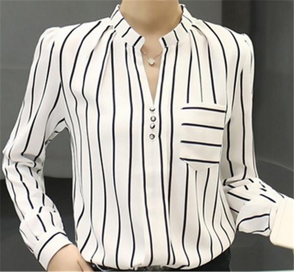 blouse, Women, Plus Size, Chiffon top
