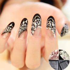 nail stickers, art, Lace, Beauty