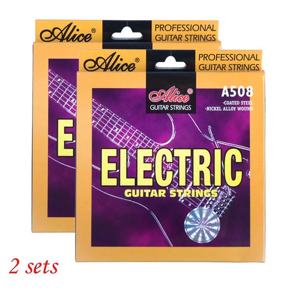 Steel, stringelectricguitar, aliceguitarstring, nickel