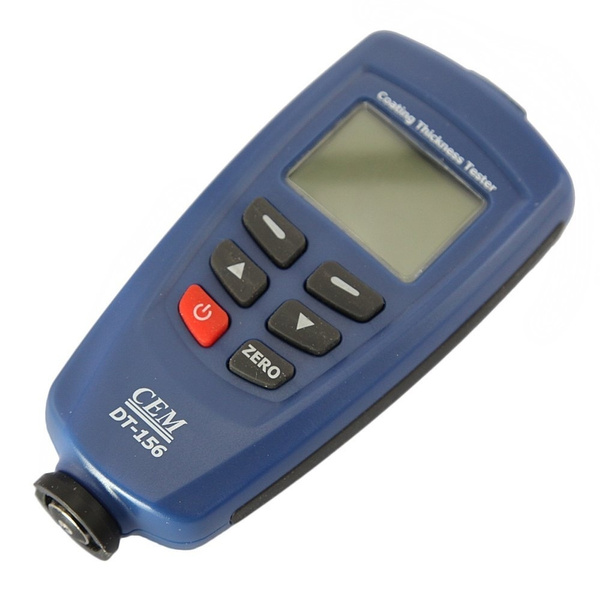 DT156  1250um CEM Paint Coating Thickness Meter Gauge Tester Auto F//NF Probes