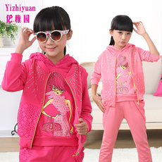 inchildren, factory direct sale, Long sleeved, three