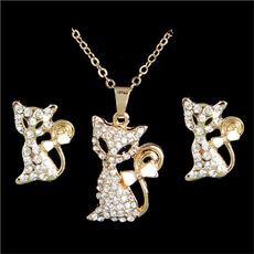 Jewelry, gold, Stud Earring, women earrings