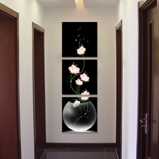 flowerposter, Wall Art, canvaspainting, Oil Painting On Canvas