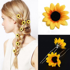 Womens Accessories, Flowers, Pins, Sunflowers