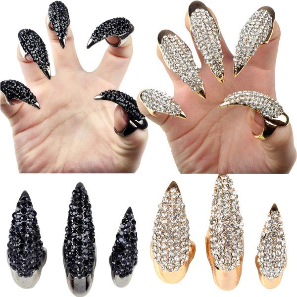 Jewelry, Beauty, Halloween Costume, Fake Nails