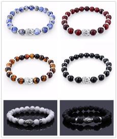Charm Bracelet, buddhaheadbead, Fashion, Jewelry
