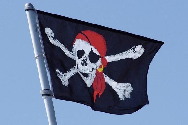 Decor, partyflag, skull, piratesofthecaribbean