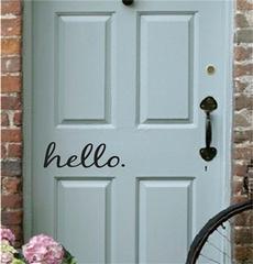 decoration, Door, Home & Living, walldecalsampsticker