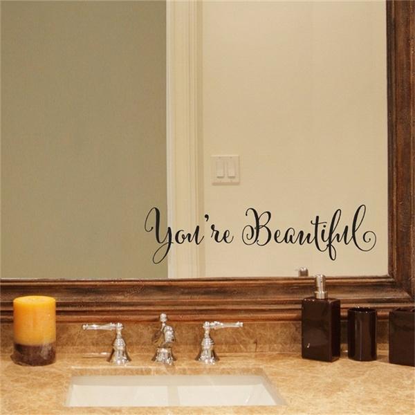 Beautiful, Car Sticker, Home & Kitchen, Home & Living