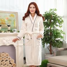 gowns, Fleece, Woman, Winter