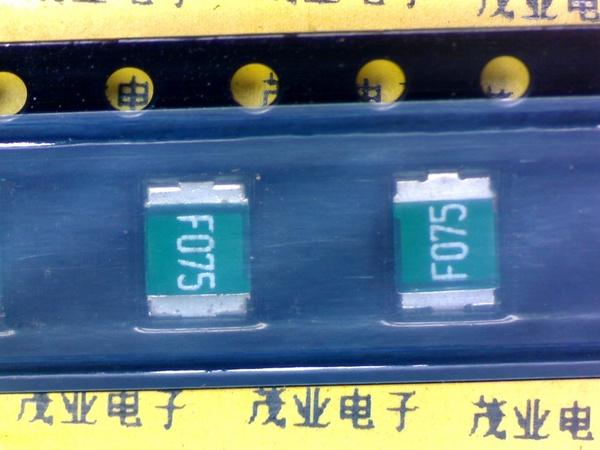 PTC polímero 750ma ve 2920 ECE 8x sl075-33 fusible