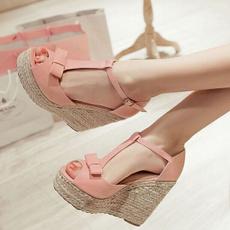 pink, Summer, Sandals, Women Sandals